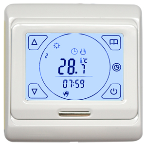 touch-screen-white-thermostat-for-underfloor-heating