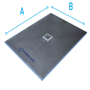 Square Shower Tray Center Drain