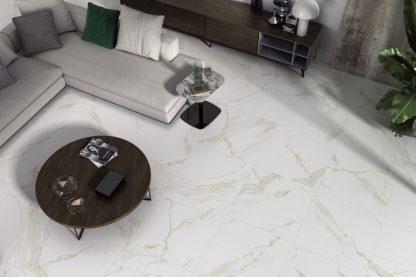 Calacatta Oro porcelain effect tile